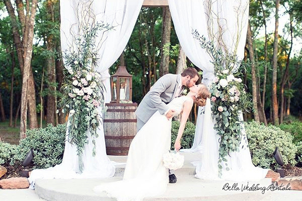 wedding altar rentals arches chuppahs canopies aisle decor - Wedding Decor Rentals