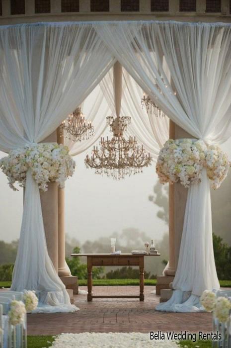 Wedding altar design resource wedding ceremony altars altars fabric wedding altar junglespirit Images
