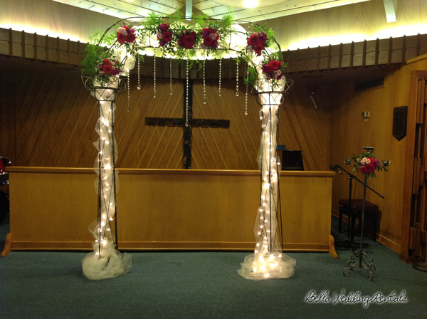 Wrought Iron Wedding Arches Wrought Iron Arches For Your Wedding