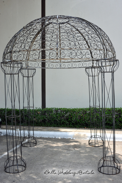 Wedding Gazebo Scroll Dome