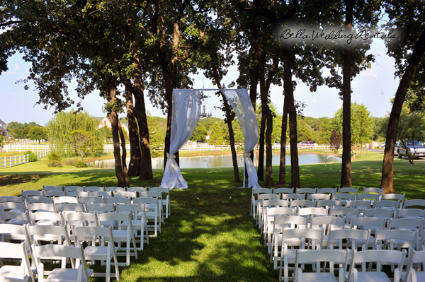 Wedding Canopy with Fabric