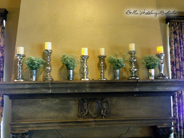 Fireplace Altar Decor