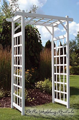 Wrought Iron Wedding Arches - Wrought Iron Arches for your Wedding ...