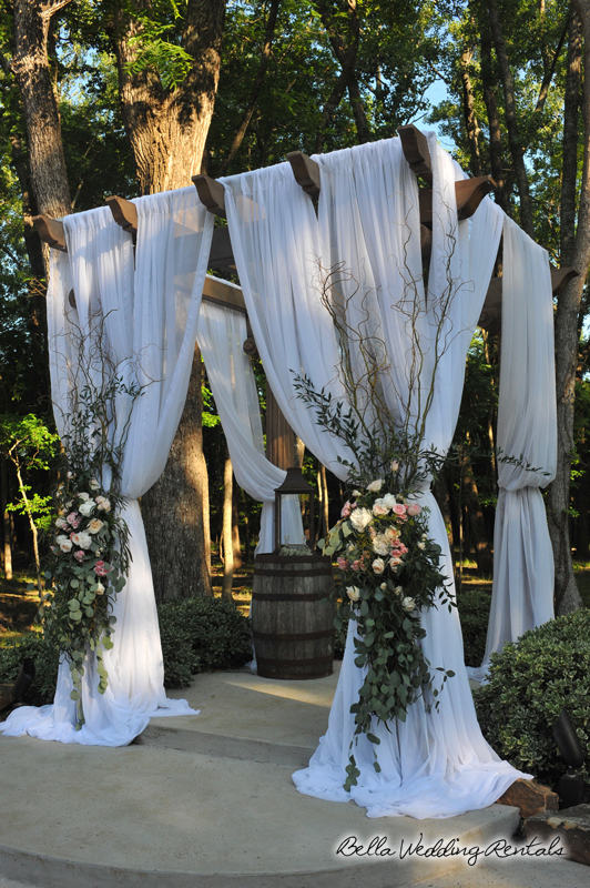 Fabric Decorated Wedding Perloa