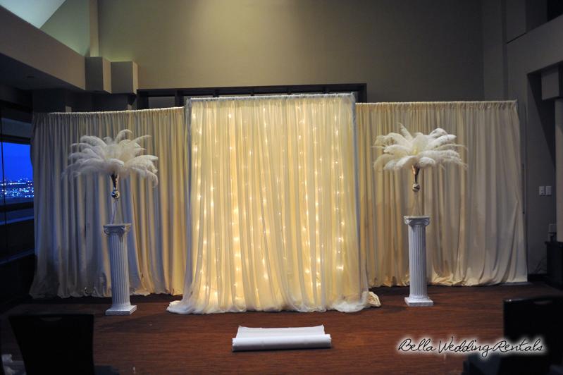 Non Traditional Wedding Altar Or Arch Rental Installation