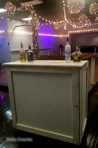 rustic chic bar