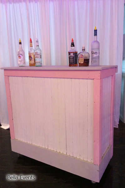 shabby chic bar