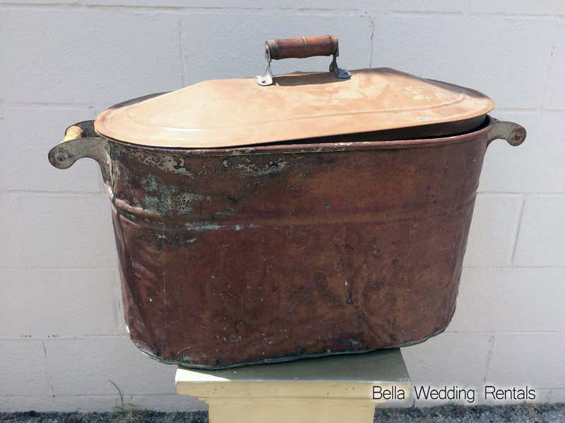 Copper Ice Bin
