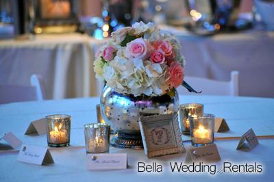 Wedding Reception Centerpiece Rentals