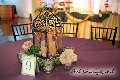 wedding wedding reception centerpiece rentals
