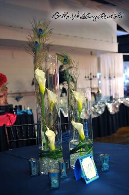 Wedding Reception Centerpieces   Wedding Centerpiece Rentals