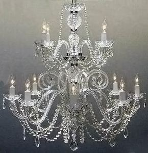 Wedding chandelier rentals chandeliers for weddings wedding large crystal chandelier aloadofball Images
