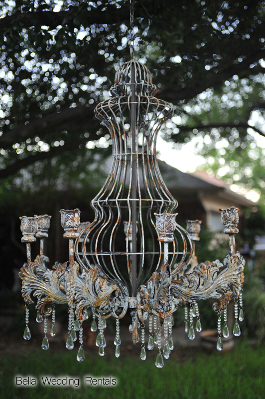 Wedding chandelier rentals chandeliers for weddings wedding large vintage candle chandelier aloadofball Images