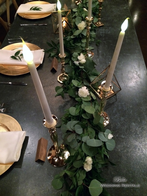 wedding altar & reception decor - Classic Oaks Ranch - 7819