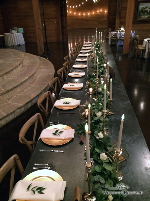 wedding altar & reception decor - Classic Oaks Ranch - 7820