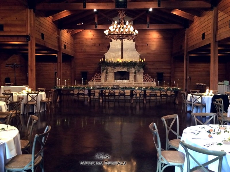 wedding altar & reception decor - Classic Oaks Ranch - 7822