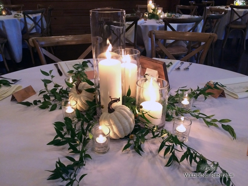 wedding altar & reception decor - Classic Oaks Ranch - 7825