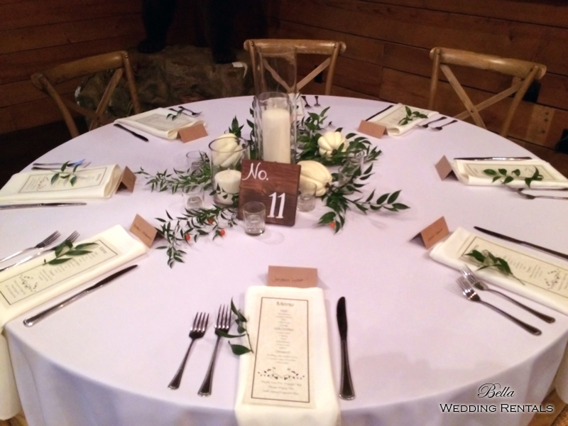 wedding altar & reception decor - Classic Oaks Ranch - 7826