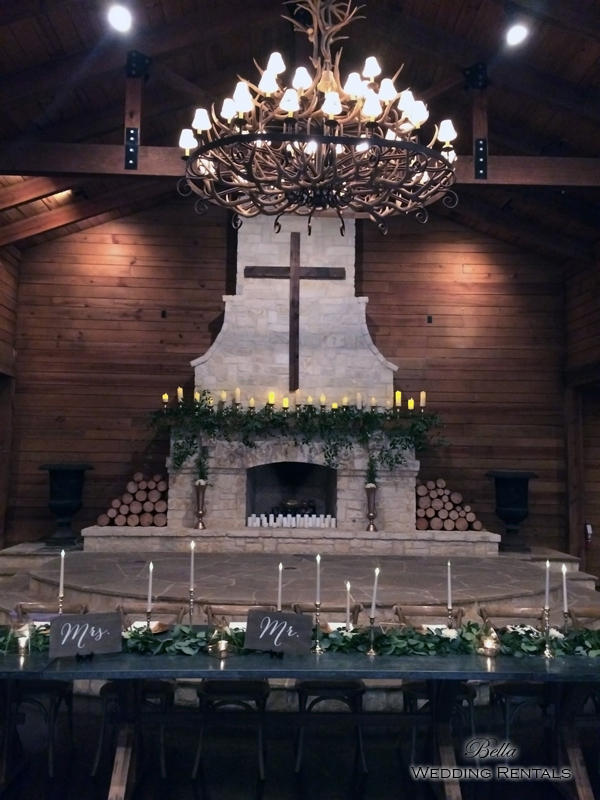wedding altar & reception decor - Classic Oaks Ranch - 7830