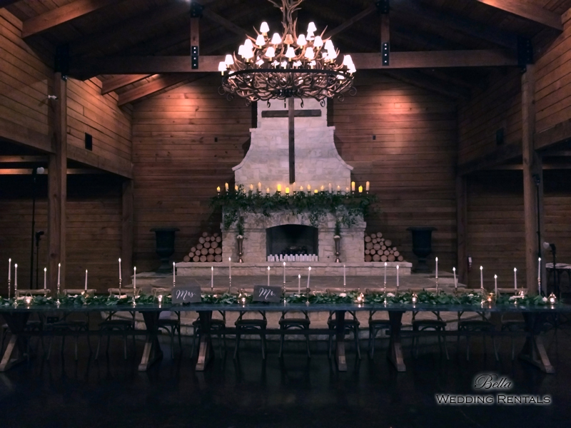 wedding altar & reception decor - Classic Oaks Ranch - 7832