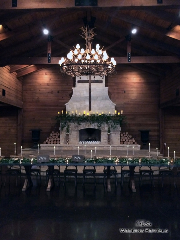 wedding altar & reception decor - Classic Oaks Ranch - 7834