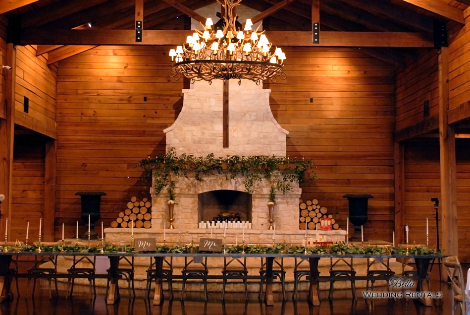 wedding altar & reception decor - Classic Oaks Ranch - 7837