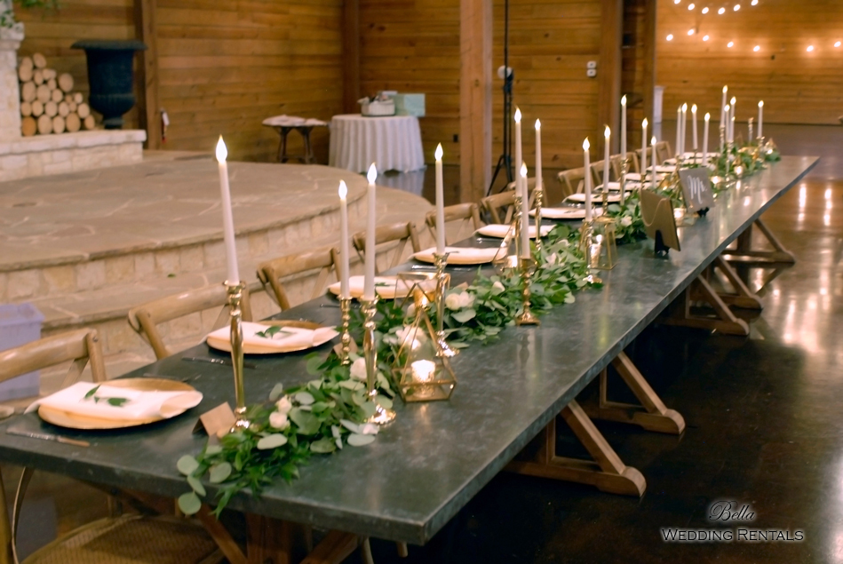 wedding altar & reception decor - Classic Oaks Ranch - 7840
