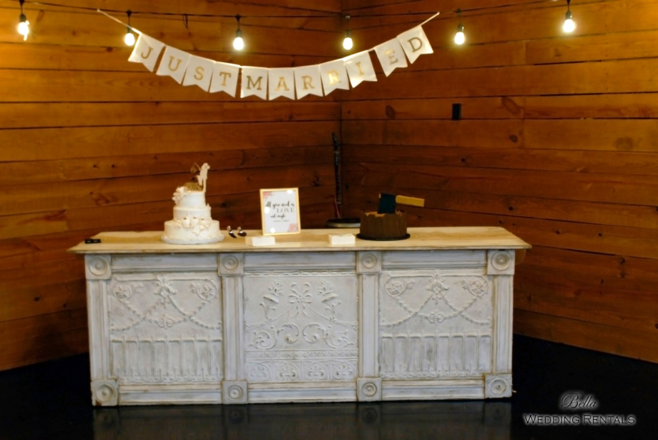 wedding altar & reception decor - Classic Oaks Ranch - 7844