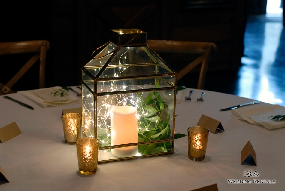 wedding altar & reception decor - Classic Oaks Ranch - 7848