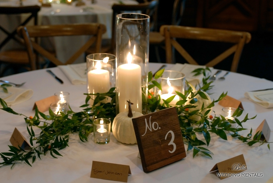 wedding altar & reception decor - Classic Oaks Ranch - 7849