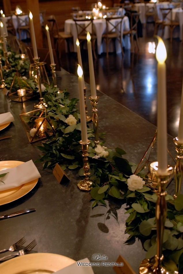 wedding altar & reception decor - Classic Oaks Ranch - 7851