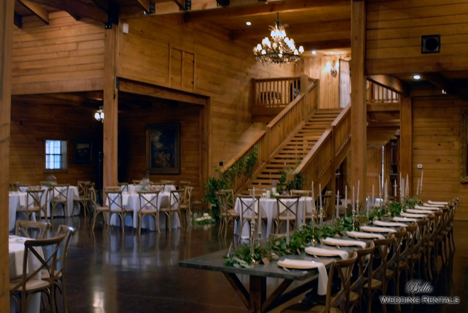 wedding altar & reception decor - Classic Oaks Ranch - 7853