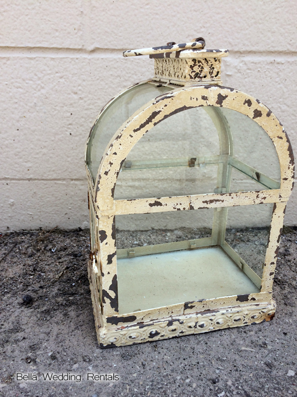 Antique White Coach Lantern