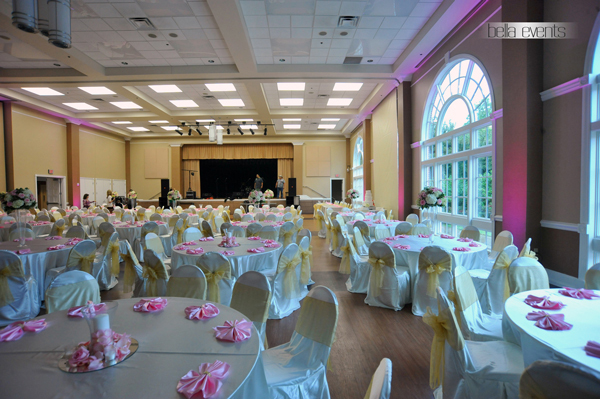 Wedding Ceremony Reception Hire: Colleyville Community Center Wedding Ceremony Installation