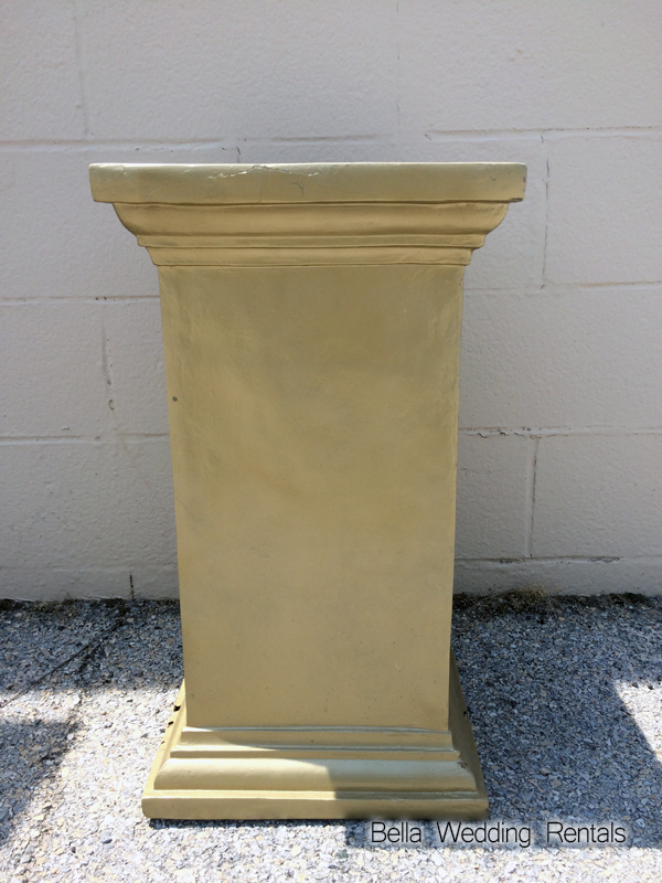 Plaster Gold Column