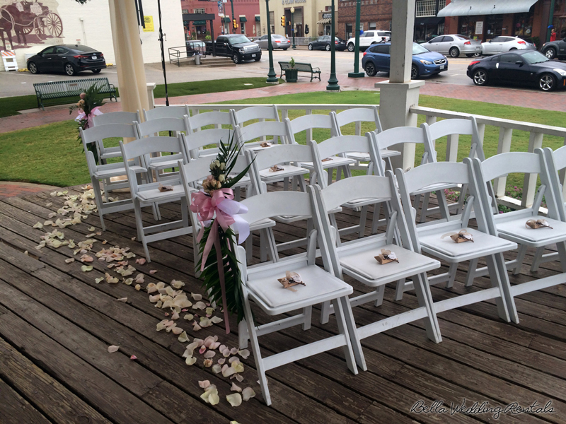 grapevine town center gazebo - wedding day - 2305