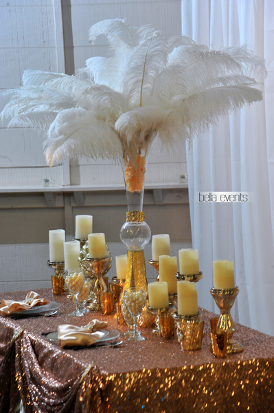great gatsby wedding theme - Chateau at Forest Park wedding - 1522