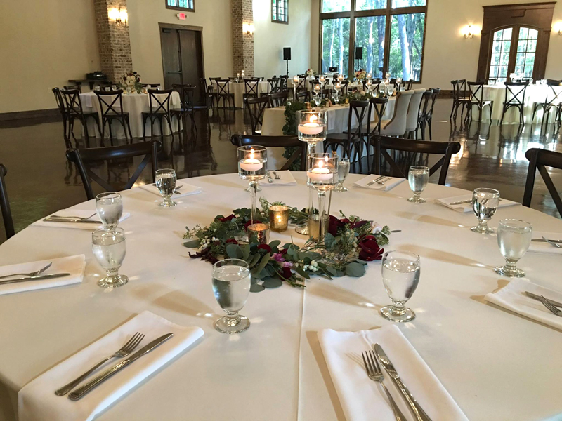 hidden waters - wedding reception - 2501