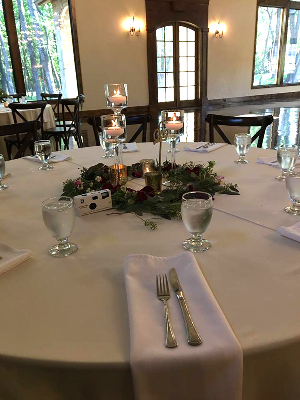 hidden waters - wedding reception - 2505