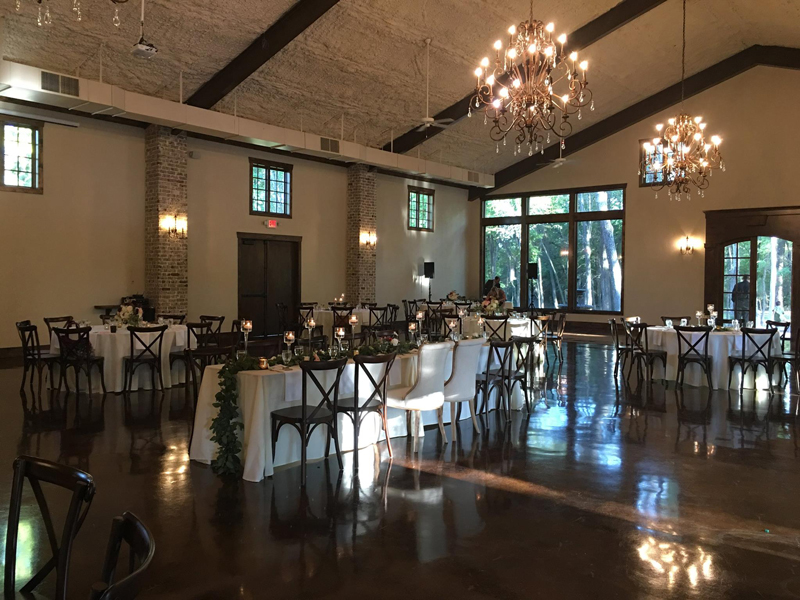 hidden waters - wedding reception - 2506