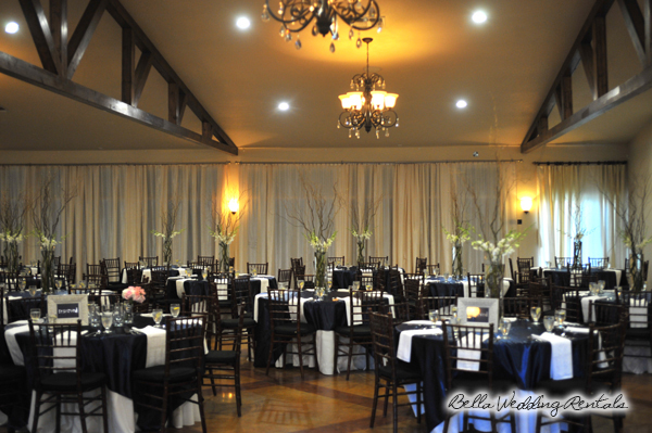 reception venue setup