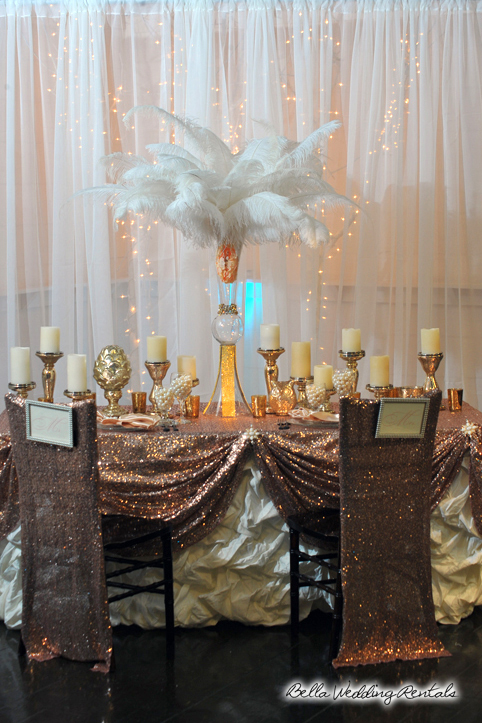 Reception Rentals . Tables . Chairs . Linens . Table Top
