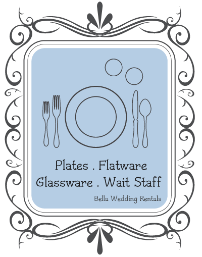 wait staff & table top rentals