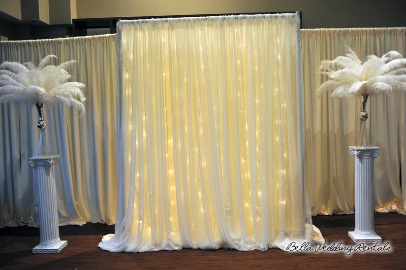 Fabric Wedding Altar Pipe Drape Als 7215