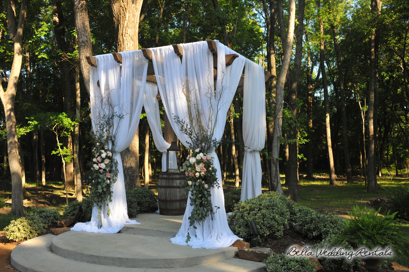 wedding%20altar%20fabric%20-%20pipe%20&% - Non-floral Decor Ideas For Pergola? Weddings, Style And Décor