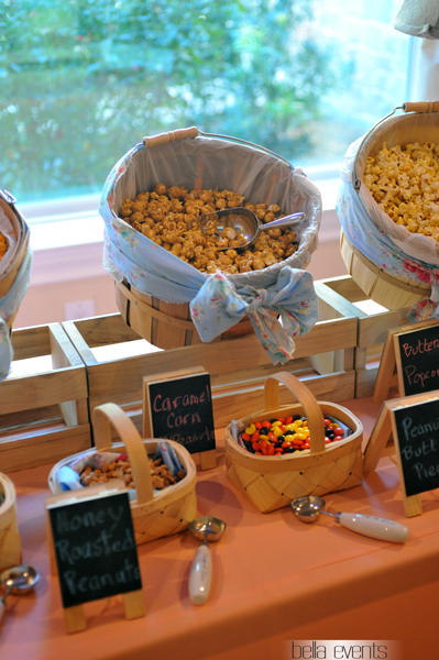 Popcorn Station For Your Wedding Reception