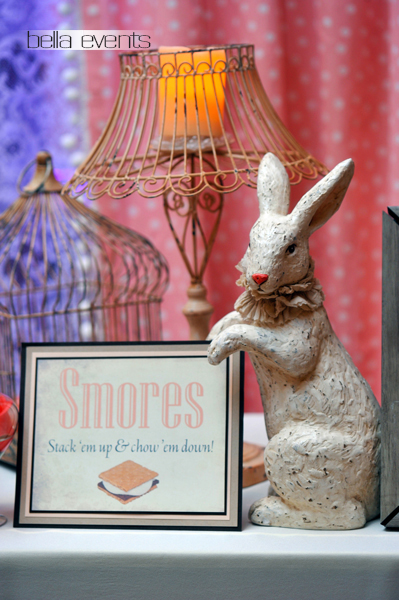 smores bar - wedding service - 1097