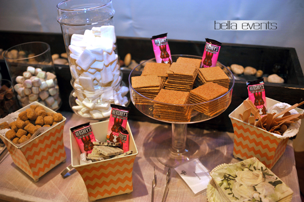 smores bar - wedding service - 1103