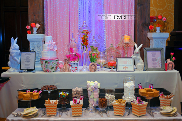 smores bar - wedding service - 1106