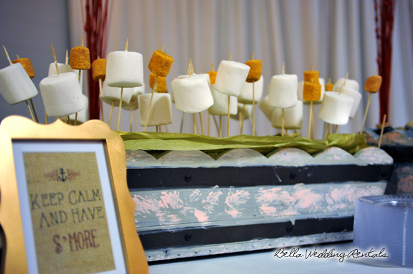 smores bar - wedding service - 1107